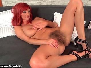 grandma  milf  redhead