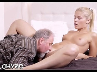 old and young   pounding   riding