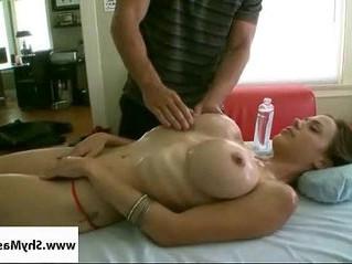 busty  massage  tits