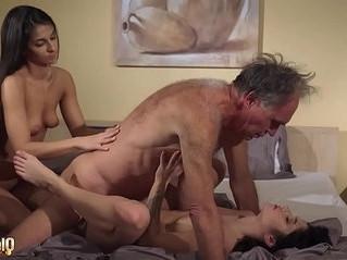 cock  cum  grandpa