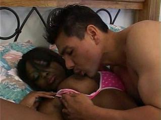 ebony  huge tits