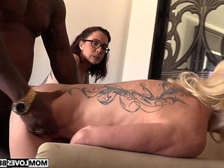 mom  sharing  stepson