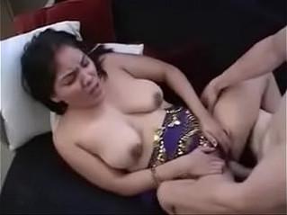 aunty  blowjob  indian