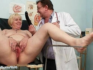 blonde   chubby   doctor