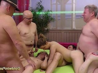 bukkake  fuck  group