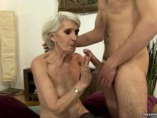 blonde  fuck  gilf