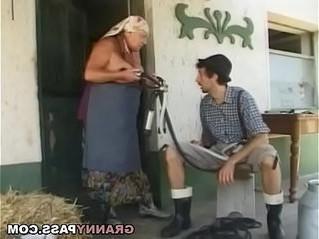 busty  cock  grandma