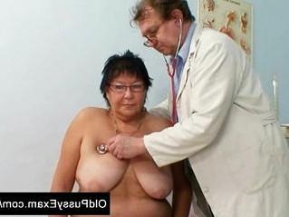 busty  doctor  gilf