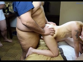 bukkake   first time   gangbang