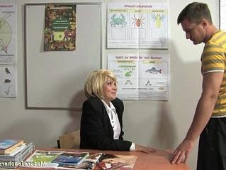 mature  older woman  russian