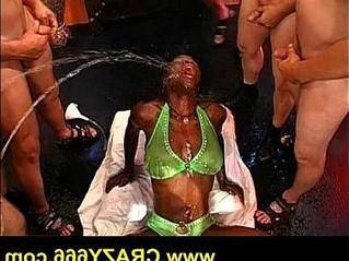 black  bukkake  girl
