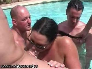 bukkake  extreme  pool