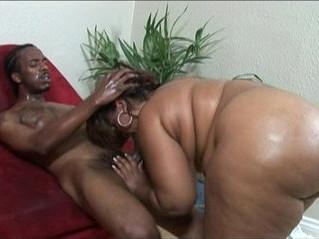 black woman  swallow