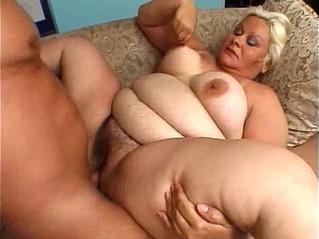 blonde  fat  mature