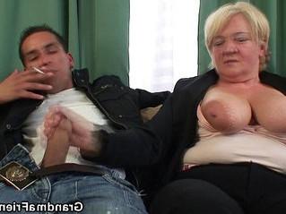 banged  dude  grandma